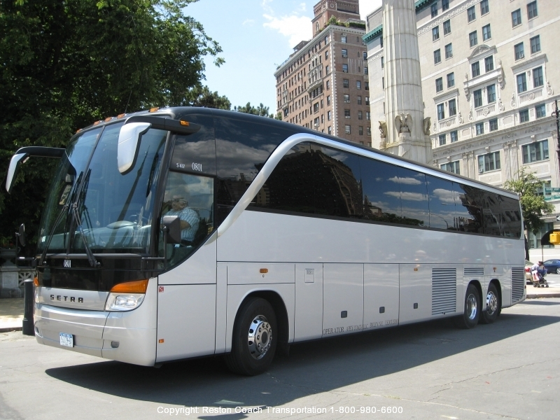Dc Charter Bus Rental Company Tour Coach Bus Service In