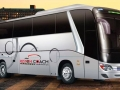 luxury 57 passenger coach bus