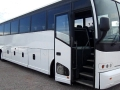 56 passenger motorcoach bus tour