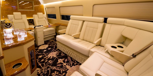 Luxury Executive & VIP Mercedes Sprinter Conversion Van