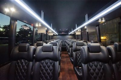 Luxury 28 passenger executive minibus