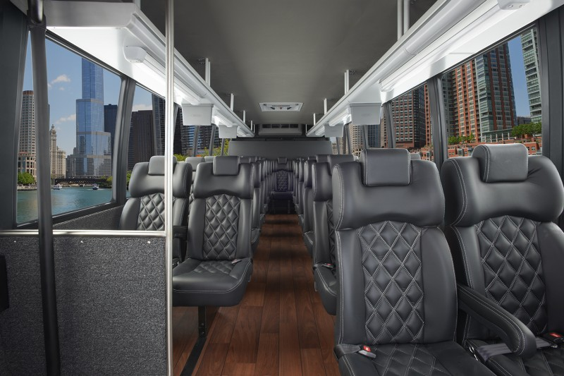 Conversion Executive Vip Minibus Shuttle Bus Rental In Dc