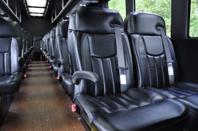 24 passenger executive mini-coach bus shuttle