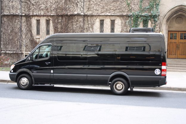 Luxury 14 passenger Executive Mercedes Sprinter Van