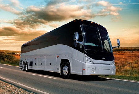 Out of town bus charter services to and from DC, MD, VA