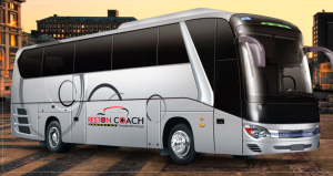 Luxury 57 passenger Charter Bus Rental in DC, MD & VA