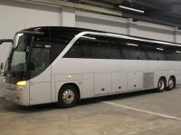 57 passenger luxury coach bus