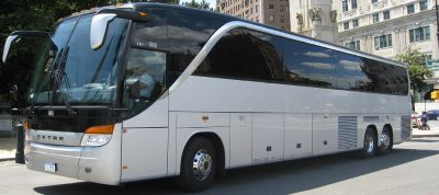 luxury 50-56 passenger motorcoach bus
