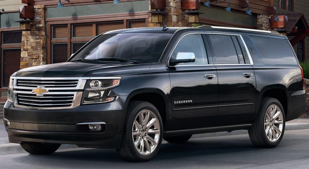 Full size 7 passenger SUV for airport car services in DCA, IAD, BWI