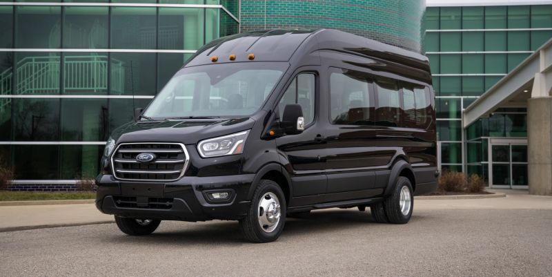 14 seater shuttle van for airport & local transfers in DC, MD, VA