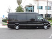 luxury 14 passenger mercedes sprinter van for hire