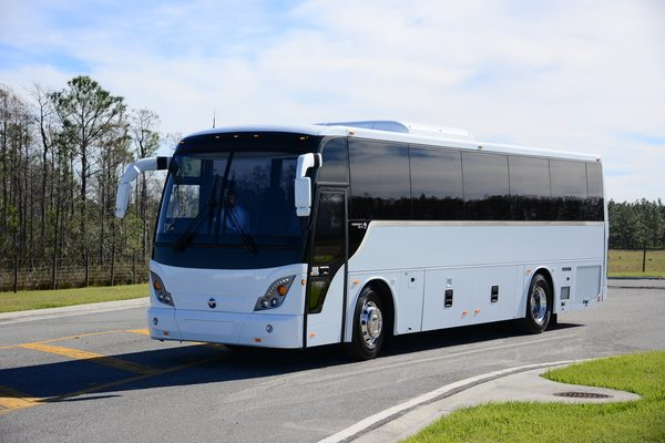 full size 50-55 seater tour bus / charter bus with toilet in DC, MD, VA