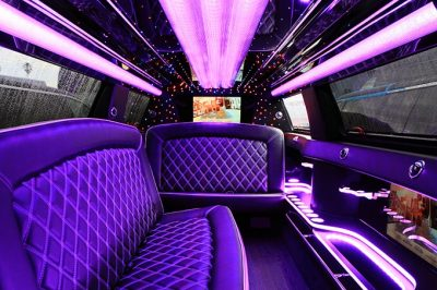 Luxury 10-23 passenger stretch limo, Limobus, Partybus rental in Northern VA, MD & DC