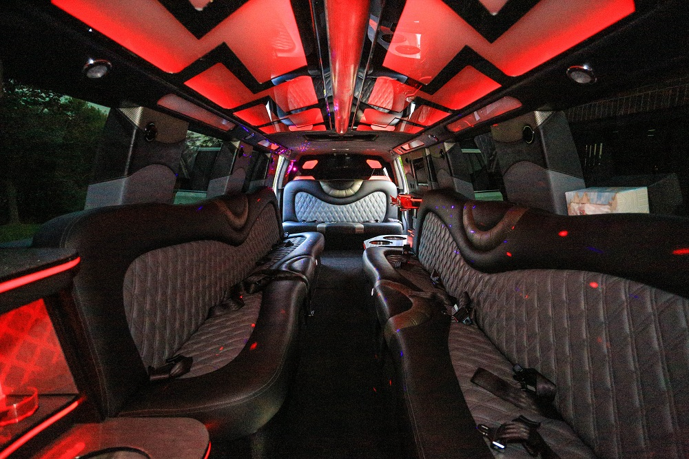 Partybus, Limobus & Stretch limousine rental for all type of corporate & private events in Washington DC, MD & Northern VA area