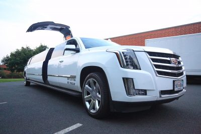 Luxury 14,18,20 passenger H2 Hummer , Cadillac Escalade stretch Limo for all type of events in DC, MD, VA
