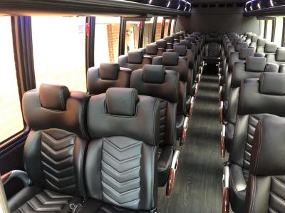 luxury 30-40 seater Executive Minibus Shuttle